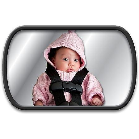 Rücksitzspiegel Für Babys Im Auto Netspower Bruchsicherer Autositz Rückspiegel 360 Einstellbar Sicher Babyspiegel Mit Saugnapf Und Rahmenclip Baby Auto Spiegel Für Kinder Babysitz Babyschalen Baby
