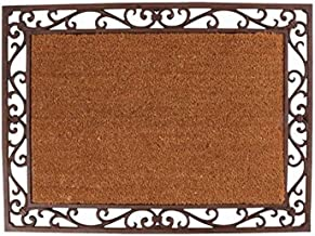 Esschert Design LH48 Cast Iron Doormat with Coir Insert