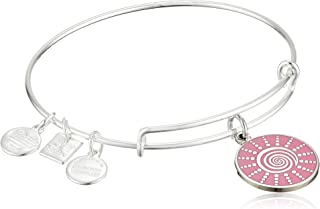 Alex and Ani Women's Charity by Design - Spiral Sun Expandable Charm Bangle Bracelet