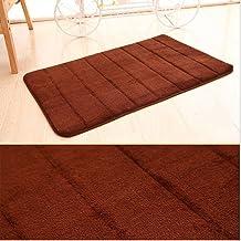 Memory Foam Bath Mat for Bathroom Non Slip Absorbent Super Cozy Coral Fleece Bathroom Rug Carpet,Machine Washable Bath Rug...