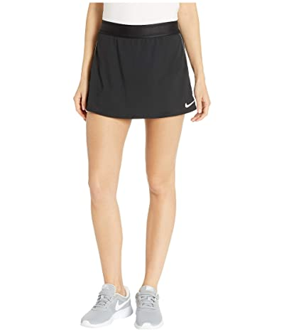 Nike Court Dry Skirt Stretch (Black/White/White/Black) Women