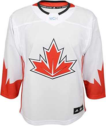 Team Canada 2016 World Cup Of Hockey Youth White Adidas Premier Jersey b5c02370a163