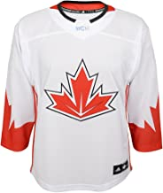 adidas Team Canada 2016 World Cup of Hockey Youth White Premier Jersey