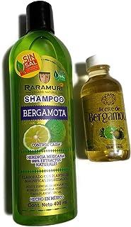 Tratamiento para el Pelo, Raramuri Shampoo-Bergamota Oil, free of Sal and Parabens