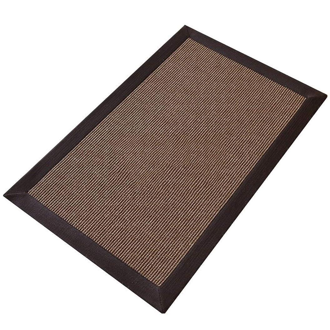 精通した検証スプーンサイザル織りのカーペットマット、環境に優しいマット、リビングルームキッチンベッドルームドアマット (Size : 140CM×200CM)