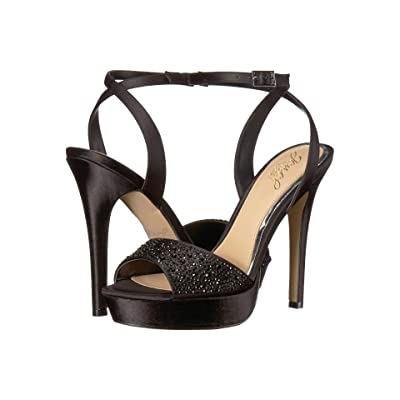 Jewel Badgley Mischka Milena (Black) Women