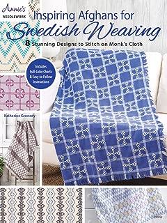 Inspiring Afghans for Swedish Weaving