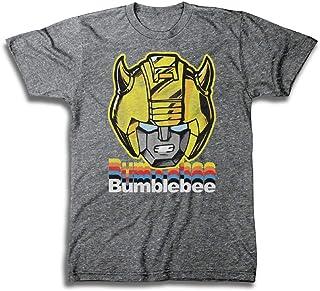 b325735743b6 Transformers Hasbro Mens Throwback Shirt - Optimus Prime, Megatron,  Bumblebee - Throwback Classic T