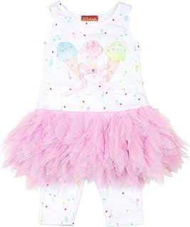 Kate Mack Girls' Ice Cream Social Tunic and Leggings Set, Sizes 12M-4