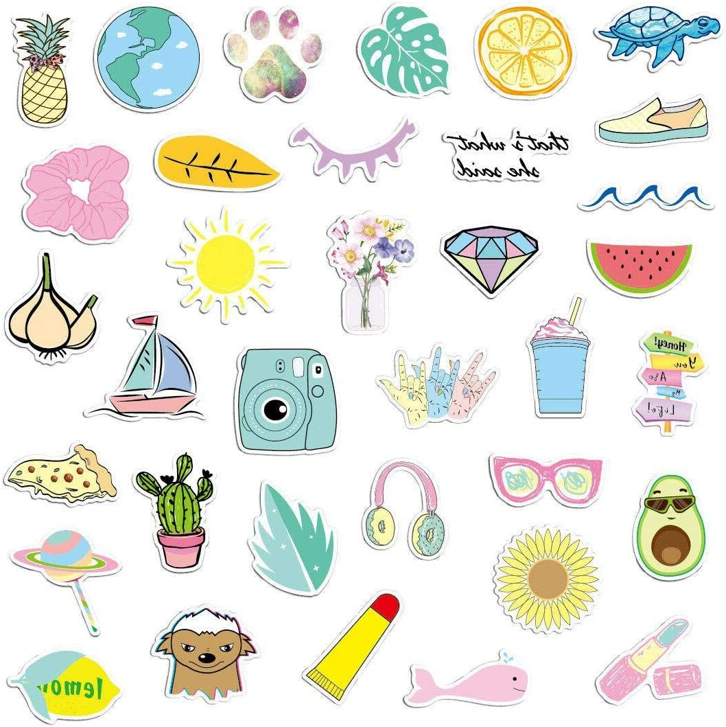 Amazon Com For Hydroflasks Waterproof Stickers Hyd Pack Of Stickers For Teen Girls Toys Games