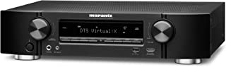 Marantz NR1609 AV Receiver - 50W powerful slim profile 7.2 channel, 2 zone home theater amplifier | Alexa compatible and stream music through WiFi, Bluetooth and Airplay