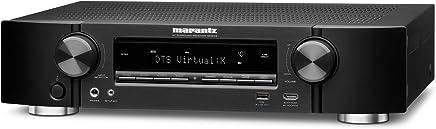 Marantz NR1609Ultra Flat 7.2Channel Network AV Receiver with heOS Full 4K Ultra HD in Black