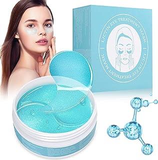 Lictin Máscara para los Ojos-60PCS Parches para los Ojos con Colágeno y Ácido Hialurónico, para las Arrugas, las Ojeras, l...