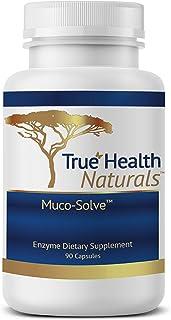 True Health Naturals - Muco-Solve Biofilm - Gut Restoration and Gut Health - Unique Enzyme Combination to Dissolve Polysac...