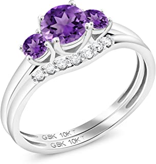 Best diamond and amethyst wedding sets Reviews