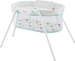 Moisés Fisher Price Stow 'n Go, color blanco, talla única