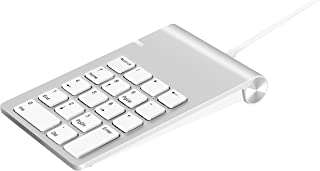 Alcey USB Numeric Keypad with 24 inch USB Cable, for iMac, MacBook, MacBook Pro, MacBook Air, Mac Mini, or Any PC