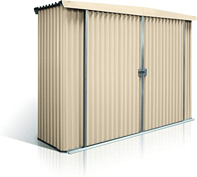 Stratco Storage Shed Locker - 9.5 ft x 2.8 ft x 6.2 ft Utility Garden Shed