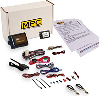 Complete 1-Button Remote Start/Keyless Entry Kit for 1998-2002 Honda Accord - with Bypass Module - (2) 1 Button Remotes