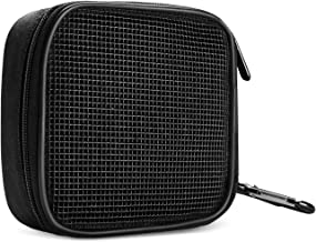 ProCase MacBook Power Adapter Bag Accessories Organizer, Portable Storage Carrying Bag for Apple MacBook MagSafe/MagSafe 2 Power Adapter, Magic Mouse, Earphones and USB Flash Disk –Black