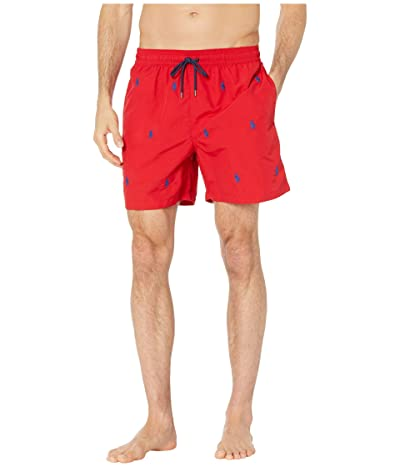 Polo Ralph Lauren Traveler Swim Trunks (Red) Men