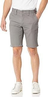 "BRIXTON mens TOIL II 20"" STANDARD FIT HEMMED CHINO WALKSHORT Casual Shorts"