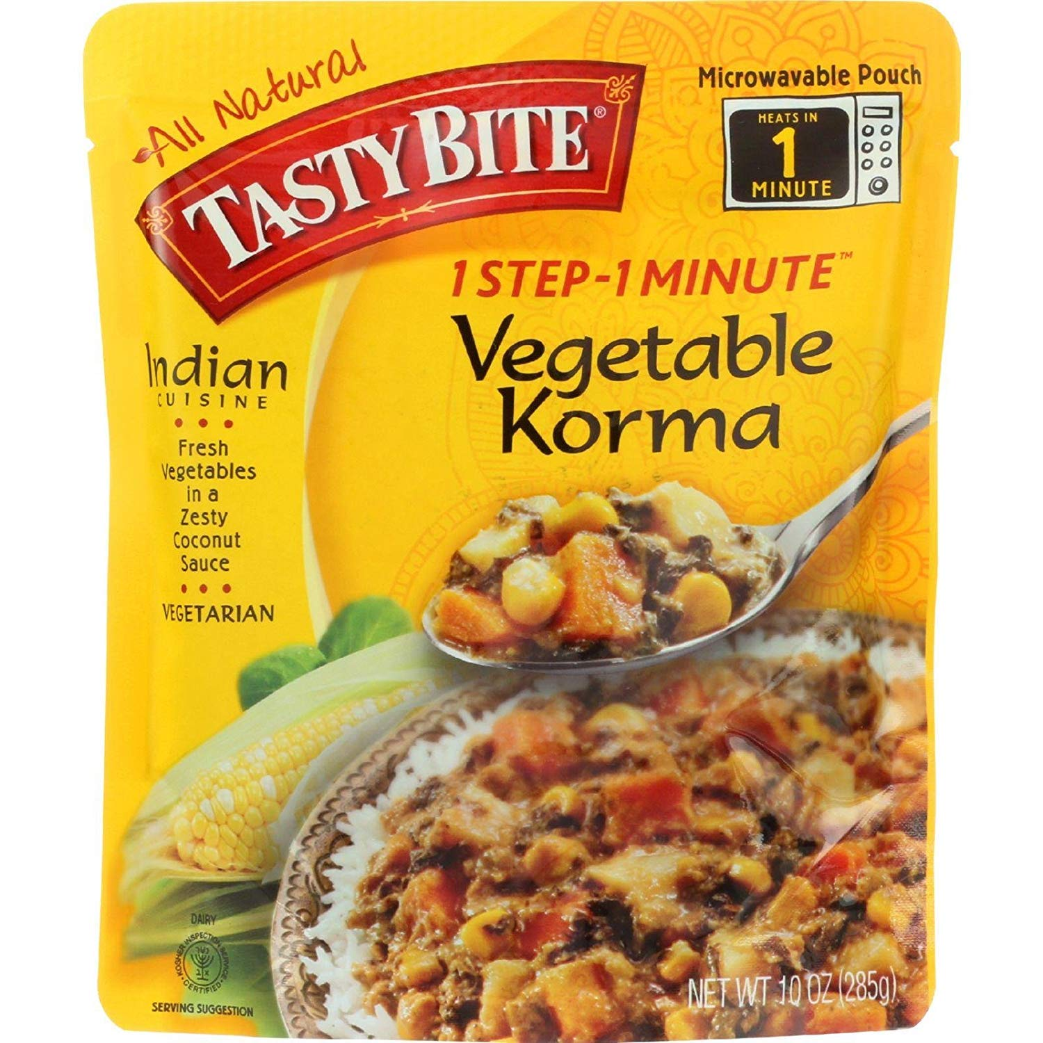 sold out Low price Tasty Bite vegetable Korma 6x10 Oz Entree