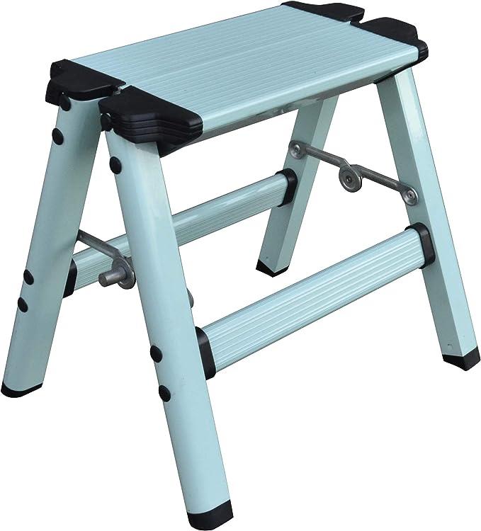 276 opinioni per Elk & Bear Piccolo sgabello pieghevole per adulti o bambini, scala in alluminio,