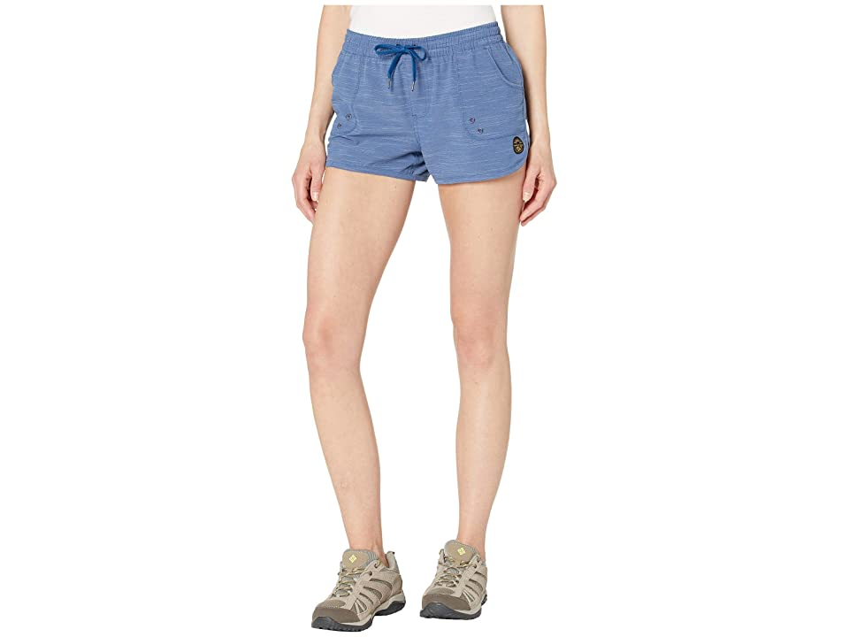 United By Blue Westray Shorts (Blue) Women