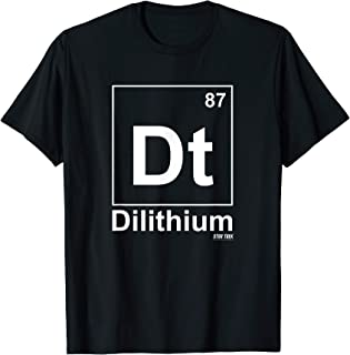 Star Trek: Dilithium Element T-Shirt