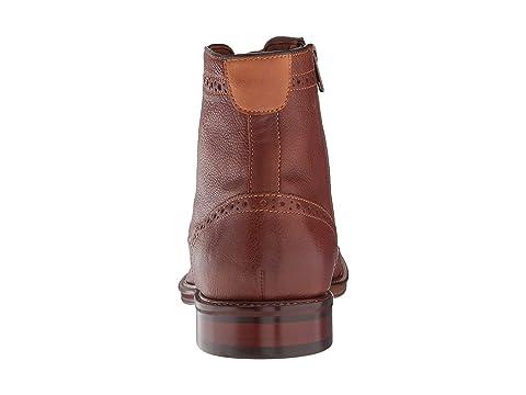 Cap GrainDark Johnston Full Warner amp; Tan Boot Grain Black Toe Full Zip Murphy ppqtnxHBz
