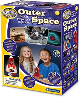Brainstorm E2063 Projector and Nightlight, Outer Space Rocket