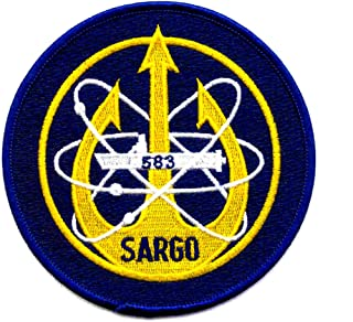 USS Sargo SSN-583 Nuclear Attack Submarine Patch