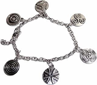 New Horizons Production Teen Wolf Assorted Metal Charms Bracelet