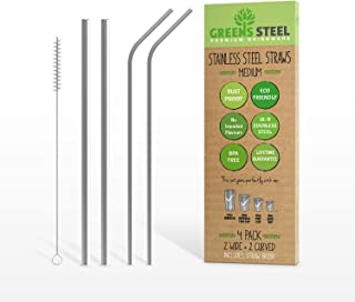 Stainless Steel Straws (Medium)