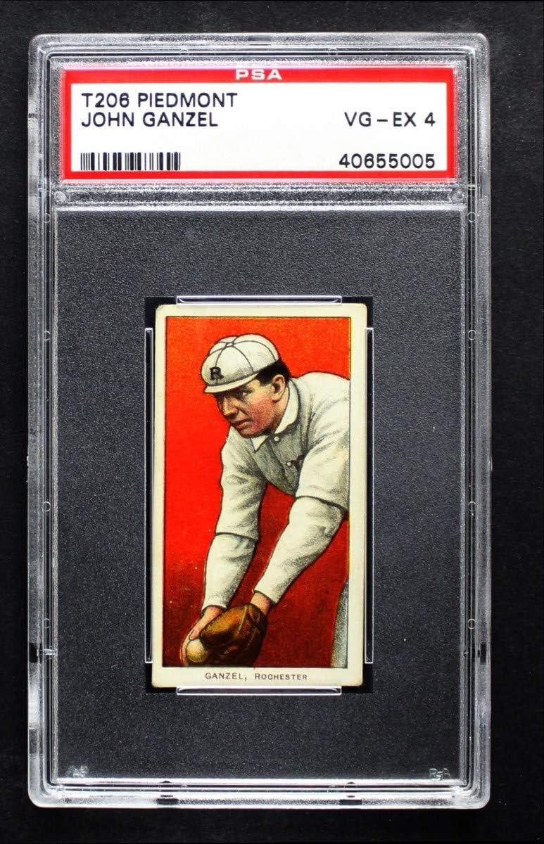 1909 T206 John Houston Mall Ganzel Minor League Ranking TOP14 - Rochester Baseball Card P