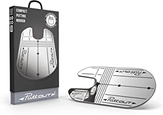 PuttOut Compact Putting Mirror - Check Your Alignment & Eye Position Anytime, Anywhere.