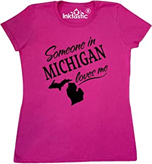 Someone in Michigan Loves Me Women's T-Shirt