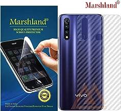 MARSHLAND 3D Carbon Fiber Flexible Back Screen Protector Anti Scratch Bubble Free Back Screen Guard Compatible with Vivo Z1 Pro