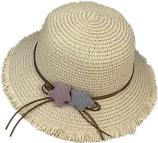 TYMZ Sommer Meer Sonnenhut M/änner Casual Urlaub///Strohhut Frauen breiter Krempe Strand Jazz H/üte Faltbare Chapeau