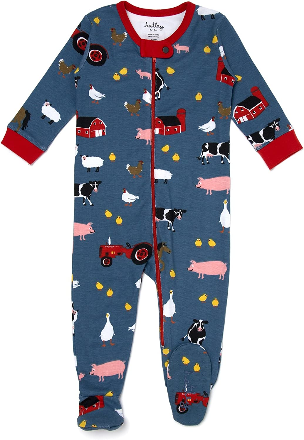 Hatley Footed Coverall Farmer Jack