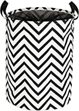 Kids Laundry Basket Collapsible Hamper, 22 Inches Tall Large Fabric Dirty Clothes Hampers for Storage