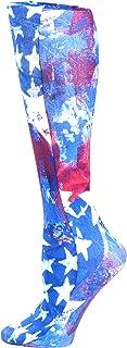Celeste Stein Therapeutic Compression Socks, Star Gazer, 8-15 mmHg, Mild