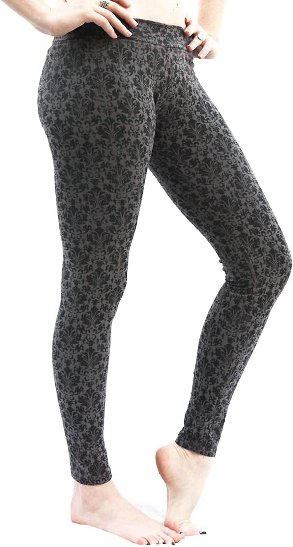 SWEET VIRTUES Women's Continuum Hand Printed CottonSpandex Legging