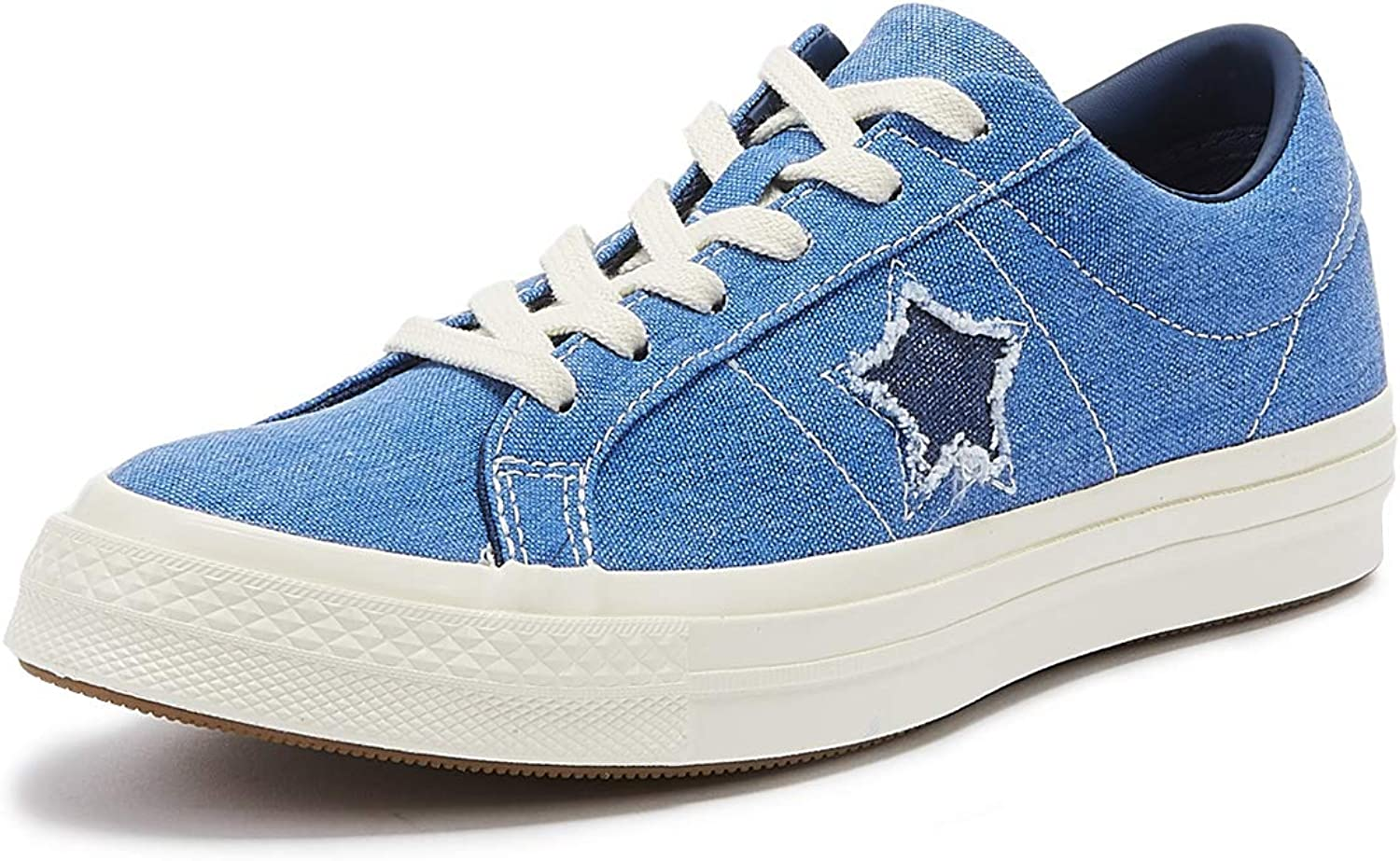 Converse One Star Mens Totally bluee Ox Trainers