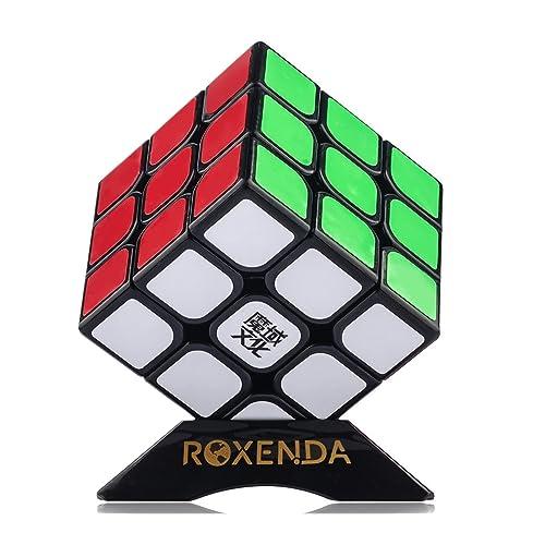 Moyu Aolong V2 Speed Cube 3x3 Enhanced Edition Smooth Magic Cube Black (Dark)