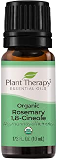 Plant Therapy Organic Rosemary Essential Oil 100% Pure, USDA Certified Organic, Undiluted, Natural Aromatherapy, Therapeut...