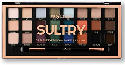 Profusion Cosmetics - Professional Artistry Pro Eyeshadow Palette, Sultry