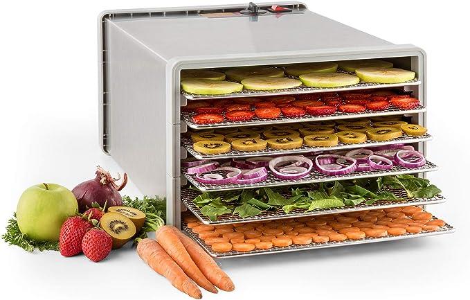 135 opinioni per KLARSTEIN Fruit Jerky Pro 6- apparecchio disidratatore, essiccatore, 630 Watt, 6