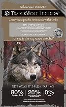 timberwolf legends dog food